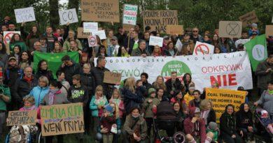 Międzynarodowy protest w sprawie powiększania kopalni PGE Turów i ochrony klimatu