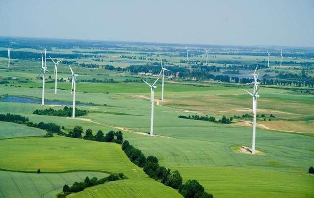 Gmina Kisielice: farma turbin wiatrowych
