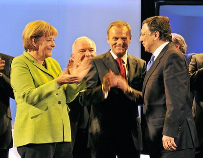 Merkel, Barroso, Tusk