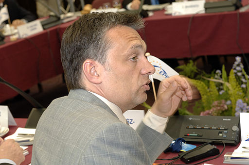 Viktor Orban na kongresie EPP w Warszawie
