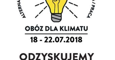Zaproszenie na pierwszy Obóz dla Klimatu: ODZYSKUJEMY ENERGIĘ!