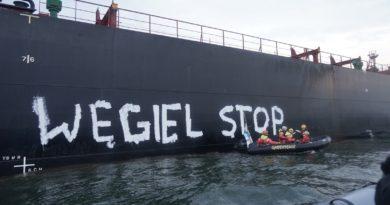 Obrońcy klimatu ponownie blokują import węgla do Polski