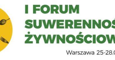 Forum Suwerenności Żywnościowej w Warszawie:  25-28.01.2018