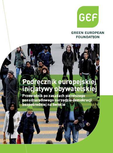 Europejska Inicjatywa Obywatelska - okładka