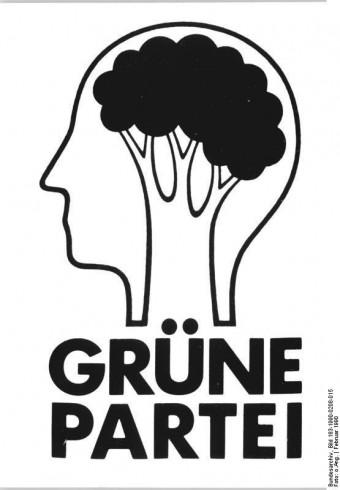Logo Partii Zielonych w NRD