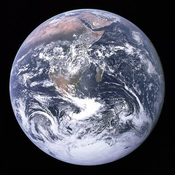 Ziemia widziana z Apollo 17
