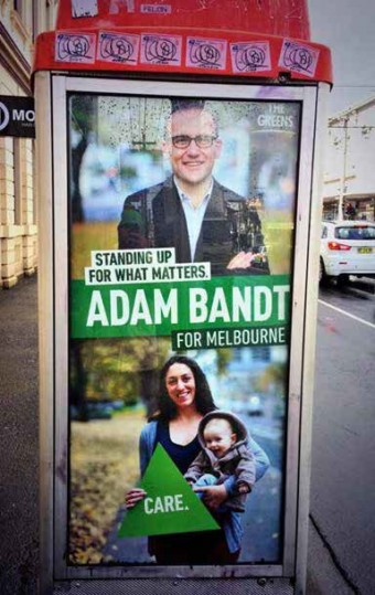 Plakat Adama Bandta