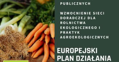 Rolnictwo ekologiczne w centrum polityki rolnej Unii Europejskiej