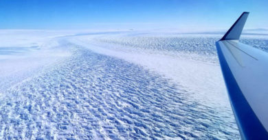 Lodowiec Denmana bardziej wrażliwy na globalne ocieplenie niż sądzono